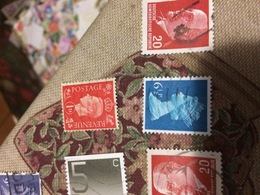 INGHILTERRA REGINA BLU - Stamps