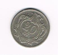 & OOSTENRIJK  20  HELLER  1895 - Autriche