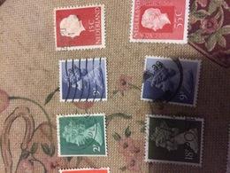 INGHILTERRA REGINA 18 P - Stamps