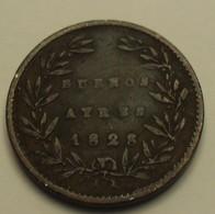 1828 - Argentine - Argentina - 5/10 REAL, Buenos Aires, KM 3 - Argentina
