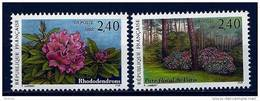 "FR YT 2849 & 2850  "" Parc Floral "" 1993 Neuf** - France"