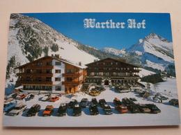 Schi- Und Wander Hotel WARTHER HOF ( Fam. Jäger U. Roiderer ) ( Geiger ) Anno 19?? ( Zie/voir Photo ) ! - Warth