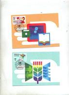 Carte Maximum 1992 Technologie  Theme Ordinateur - Cartes-maximum