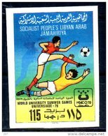 LIBYE  N°  793  * *  NON DENTELE     Football  Soccer  Fussball - Unused Stamps