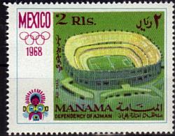 MANAMA   N°     *  *    Jo 1968    Stade   Soccer  Fussball  Football - Football