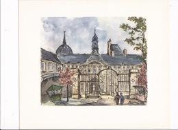 Jolie Aquarelle (reprod. Sur Vélin), Années 1950, De Henri-Arnaud Rougier, Rouen, Hôtel-Dieu. A Encadrer ! - Prints & Engravings