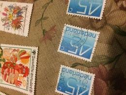 OLANDA ORDINARIO AZZURRO - Stamps
