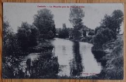 54 : Lunéville - La Meurthe Près Du Pont De Viller - Plan Inhabituel - (n°13536) - Luneville