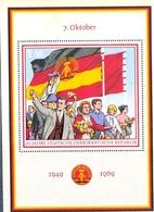 République Démocratique Allemande, Bloc Feuillet N° 23, 20ème Anniversaire De La RDA, - [6] République Démocratique