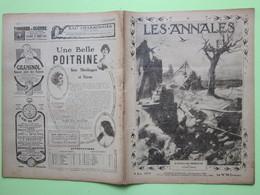 LE PEINTRE AVEUGLE, J LEMORDANT - Mort De Galliéni - RACINE Et BOILEAU, POILUS - LES ANNALES Revue 1771 Du 3 Juin 1917>> - 1900 - 1949