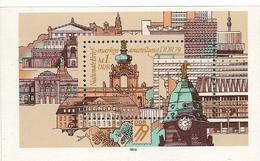 République Démocratique Allemande, Bloc Feuillet N°53, Exposition Philatélique Nationale à Dresde - [6] République Démocratique