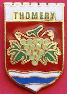 GG...310...BLASON......THOMERY...........département De Seine-et-Marne, En Région Île-de-France. - Villes