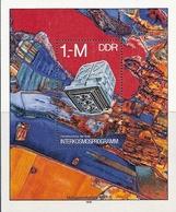 République Démocratique Allemande, Bloc Feuillet N°49, Programme Interplanétaire Interkosmos - [6] République Démocratique