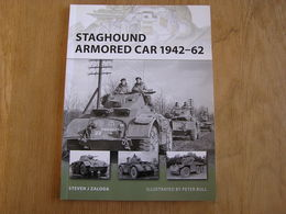 STAGHOUND ARMORED CAR 1942 1962 1 Belgian Armoured Car Régiment Blindés Cavalerie Armée Belge Char Tank US British Army - Guerre 1939-45