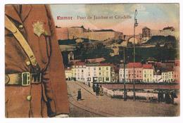 CPA N° 4 D'une Série Puzzle : NAMUR - Albert 1er  Flanc Gauche - Pont De Jambes Et Citadelle - Namur