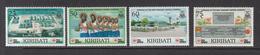 1991 Kiribati Links With Japan Hospital Culture Dancers Health Complete Set Of 4 MNH - Kiribati (1979-...)