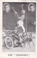 """LES """" CELMAR'S  """"  PUBLICITE ARTICLES DE SPORTS AU DOS ACHAT IMMEDIAT - Motorcycle Sport"""