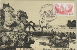 Carte-Maximum FRANCE N° Yvert 2316 (BORDEAUX) Obl Sp Ill Congrès (Ed ECA) - 1980-89