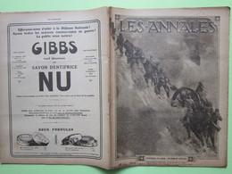L'OFFENSIVE ITALIENNE - ANDRE TARDIEU - VERDUN - MARCHE DES TITANS - LES ANNALES Revue N°1772 Du 10 Juin1917>> - Weltkrieg 1914-18