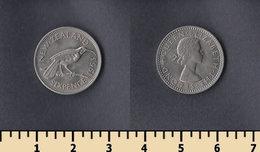 New Zealand 6 Pence 1963 - Nouvelle-Zélande