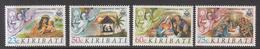 1991 Kiribati  Christmas Noel Complete Set Of 2 MNH - Kiribati (1979-...)