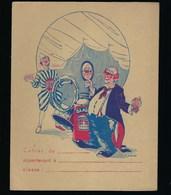 Protege Cahier Illustré  Glassex Brasso  Les Clowns - Protège-cahiers
