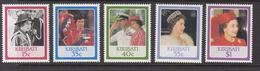 1986 Kiribati  QEII Birthday Complete Set Of 5 MNH - Kiribati (1979-...)
