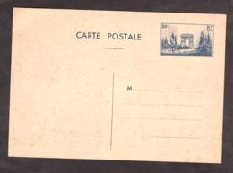 France - 1939/40 - Carte Entier Postal - N°403-CP2 - Arc De Triomphe - Standard Postcards & Stamped On Demand (before 1995)