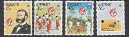 1988 Kiribati  Red Cross Health  Complete Set Of 4 MNH - Kiribati (1979-...)