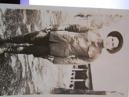WW1 US Soldier Photo Postcard - 1914-18