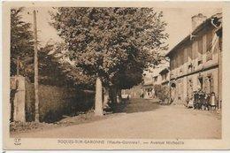 CPSM Avenue Michaélis ROQUES-SUR-GARONNE 31 - Otros Municipios