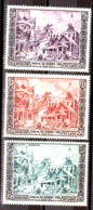 Laos - 1954 - N° 28 Et 29 + PA 13 - Neufs * - Jubilé De SM Sisavang Vong - Laos