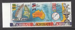 1986 Kiribati World Cup Sailing Ships  Complete Set Of 3 MNH - Kiribati (1979-...)