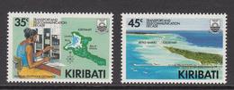 1988 Kiribati Transport & Telecom Maps   Complete Set Of 3 MNH - Kiribati (1979-...)