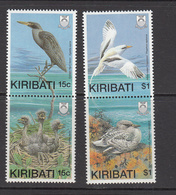 1989 Kiribati Birds Oiseaux Heron Tropicbird    Complete Set Of 3 MNH - Kiribati (1979-...)