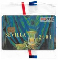 Spain - Sevilla 2001 (Fiestas De Primavera) - CP-225 - 03.2001, 12.02€, 26.300ex, NSB - Spain