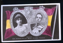 KING ALPHONSO XIII PHOTO CARTE - Royal Families
