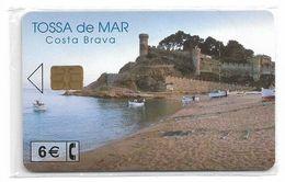 Spain - Tossa De Mar - CP-249 - 03.2002, 6€, 21.500ex, NSB - Conmemorativas Y Publicitarias