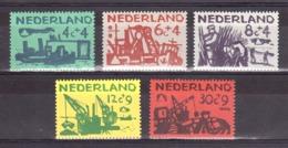 Pays-Bas - 1959 - N° 703 à 707 -  Neufs ** - Travaux De Protection Contre Les Inondations - Cote 20 - Neufs