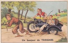 UN BONJOUR DE TREIGNES  ACHAT IMMEDIAT - Belgium
