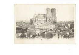 Cpm - 51 - Reims - Cathédrale - Edit P.D.R. - Travaux échafaudage - Reims