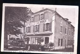 BRETENOUX HOTEL RESTAU ET RARE SON ADDITION AU DOS - Bretenoux