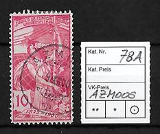 1900 UPU 25 JAHRE WELTPOSTVEREIN → SBK-78A   ►Stempel Azmoos◄ - Used Stamps