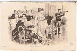 ILLUSTRATEUR  NON SIGNE     SERIE  DES GRACES  N°530  PIN UP  BE - Avant 1900