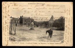 51 FLORENT (Marne) - Le Grand Puits - La Mairie - Le Vieux Château - Autres Communes