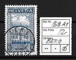 1924  50 JAHRE WELTPOSTVEREIN → SBK-168 AI   ►Stempel Berg◄ - Gebraucht