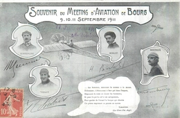 01 BOURG EN BRESSE  Meeting D'aviation  Septembre 1911  2scans - Bourg-en-Bresse