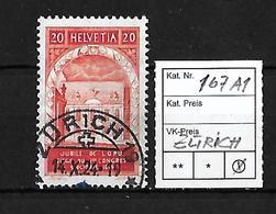 1924  50 JAHRE WELTPOSTVEREIN → SBK-167 AI   ►Stempel Zürich◄ - Gebraucht