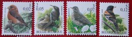 Bird Vogel Oiseau Pajaro Buzin OBC N° 2918-2921 (Mi 2969-2972) 2000 POSTFRIS MNH ** BELGIE BELGIEN / BELGIUM - Ungebraucht