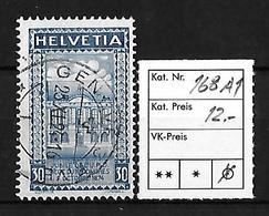 1924  50 JAHRE WELTPOSTVEREIN → SBK-168 AI   ►Stempel Genève◄ - Gebraucht